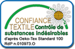 Logo du label Oeko Tex
