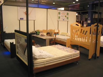 Photo de notre stand au salon Egast 2012